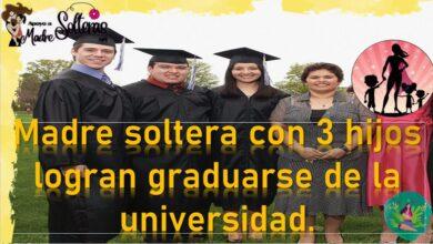 madre-soltera-con-3-hijos-logra-graduarse-de-la-universidad