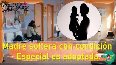 Madre soltera con condicion especial es adoptada 6