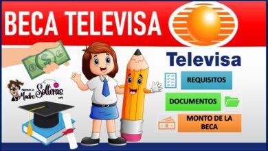Beca Televisa 2021-2022