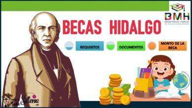 Becas Hidalgo 2021-2022