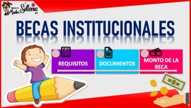 Becas institucionales 2021-2022