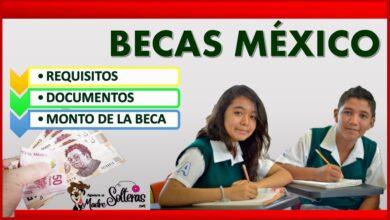 Becas México 2021-2022