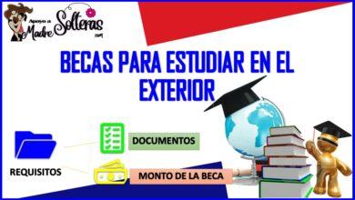 Becas para estudiar en el exterior 2021-2022