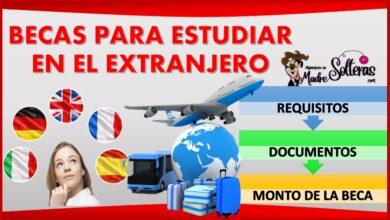 Becas para estudiar en el extranjero 2021-2022