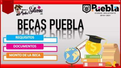 Becas Puebla 2021-2022