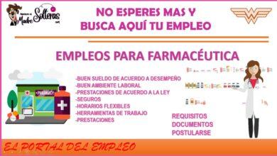 empleos-para-farmaceutica