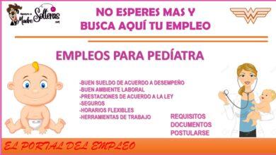empleos-para-pediatra