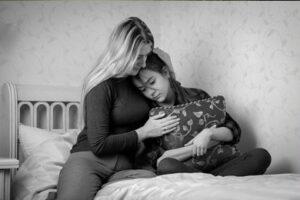 madre pierde su segundo hijo