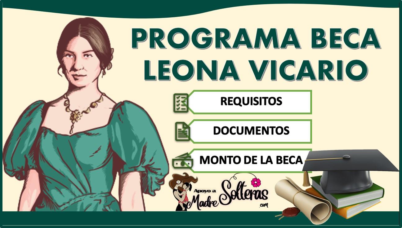 Programa Beca Leona Vicario 2021-2022