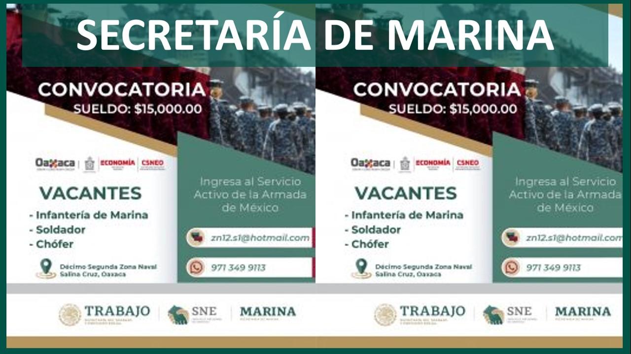 secretaría de marina reclutamiento 2021